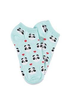 Panda Ankle Socks   Forever 21 - 2000131107