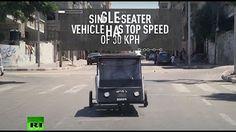 1:30  Keep wheels turning! Gaza student creates solar-