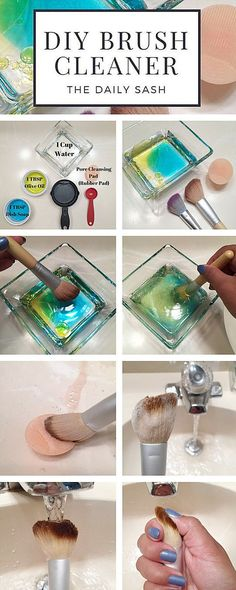 Makeup Brush DIY Cleaner                                                                                                                                                                                 More