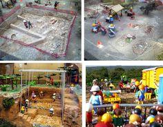 PAR: El trabajo arqueológico en dioramas