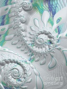 Sharing this beautiful fractal image by Heidi Smith!