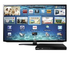 "TV LED 40"" Full HD 3 HDMI Conversor Digital UN40EH5300 - SAMSUNG, por apenas R$1868"