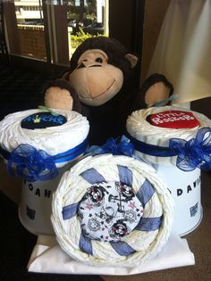 How To Make A Drum Set Nappy Cake