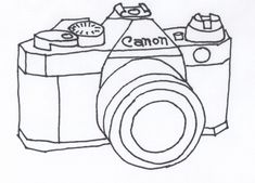 Vintage Camera Drawing | ... the crafty cpa: return on creativity: vintage camera embroidery no.3
