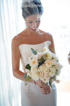 Modern New York Wedding from Amaranth Photography. - bridal bouquet