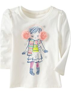Old Navy | Embellished Graphic Tees for Baby