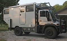 "The mighty MOG... I must buy an old surplus one before the price becomes ""collectable"" level..  Unimog Off Road expedition Camper"