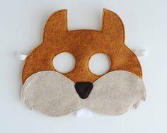Squirrel Mask ADULT by oppositeoffar on Etsy, $18.00