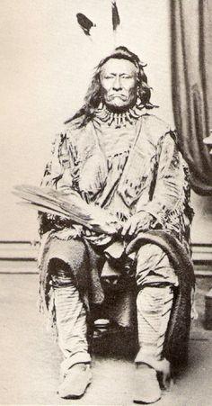 Wiyaka Luta (aka Red Feather) - Itazipcola - circa 1871