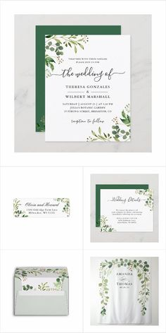 Eucalyptus Greenery Leaves Foliage Themed Wedding Invitations, Cards, Stationery, and more. #weddinginvitation Wedding Places, Wedding Place Cards, Wedding Menu, Chic Bridal Showers, Bridal Shower Signs, Spring Wedding Invitations, Wedding Invitation Design, Wedding Welcome Signs, Simple Weddings