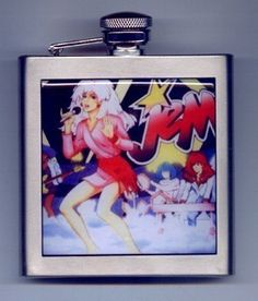 Jem and The Holograms Liquor Hip Flask Stainless Steel