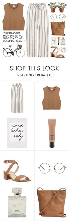 """One in a million"" by tania-maria ❤ liked on Polyvore featuring Retrò, Urban Outfitters, MAC Cosmetics, Nine West, BAGGU and ABS by Allen Schwartz"