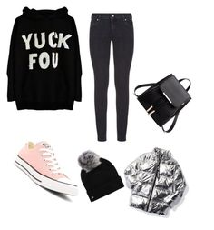 """Monday"" by ksenija-ksenija on Polyvore featuring Paige Denim, Converse, Ivy Park and UGG"