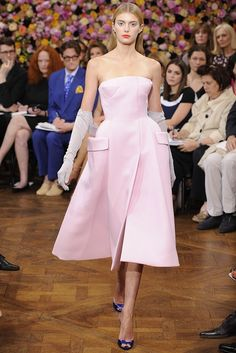 Raf Simmons debut at Christian Dior Fall Couture 2012