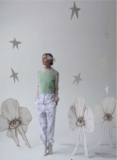 Whimsical Childlike Lookbooks - The Lesia Paramonova 2013-14 Collection is Inspired by Uniforms (GALLERY)