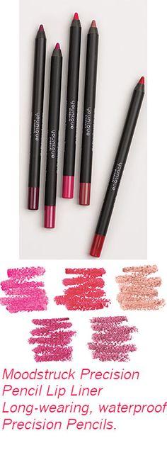 Moodstruck Precision Pencil Lip Liner Long-wearing, waterproof, smudge-proof Precision Pencils.