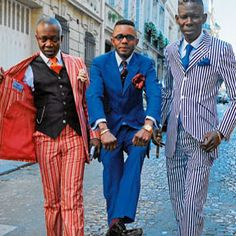 the Sapeurs of the Congo: Love Love Love!