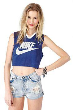 Go Nike Crop Tank