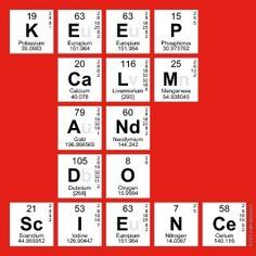 do science - quimica