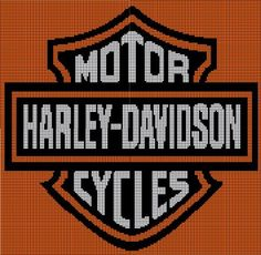 Harley Davidson via Loopaghans Custom Crochet. Click on the image to see more!