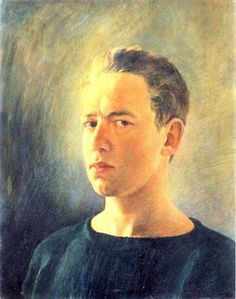 Andrew Wyeth, Self-Portrait, 1938 (about age 21)