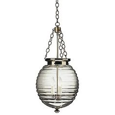 Beehive Pendant by Robert Abbey - pendant light for island?