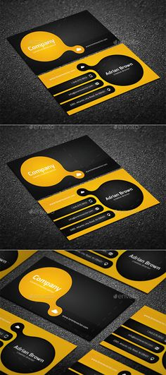 Creative Business Card Template #design Download: http://graphicriver.net/item/creative-business-card/10310368?ref=ksioks