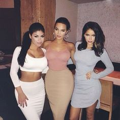 (Left to Right) a friend, Natalie Halcro and Olivia Pierson
