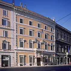 (The beautiful Hotel Tiziano, where SMC students stay in Rome)