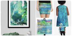 Art for the environment and of my and Adventures in my and  Original Artwork, Original Paintings, Art Basel Miami, Nature Artwork, Gold Gifts, Pencil Skirts, Black Girl Magic, Gifts For Family, Art For Sale