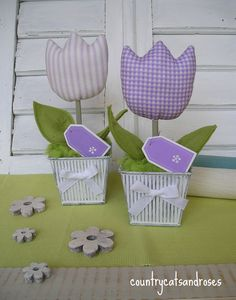 tulipani di stoffa - Cerca con Google