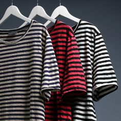 """@KNYEW """"Destroyed Stripe Perfecto Tees"""" 