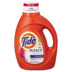 Laundry Detergent With Bleach, Original, 100 Oz Bottle, 4/carton