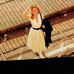 Iconic white dress from Under the Tuscan Sun. One of my all-time favorite dresses.  Costume Designer - Nicoletta Ercole is known for her work on Letters to Juliet (2010), Under the Tuscan Sun (2003).