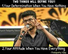 Tamil Motivational Quotes, All Quotes, Good Life Quotes, Movie Quotes, Happy Quotes, Positive Quotes, Inspirational Quotes, Arun Vijay, Ilayathalapathy Vijay