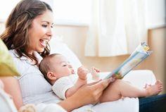 Mesmo na fase intrauterina, o bebê é estimulado pelas vibrações produzidas durante a leitura