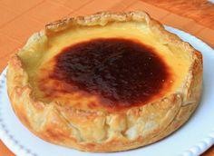 RECEITA THERMOMIX: Torta de pastel de nata