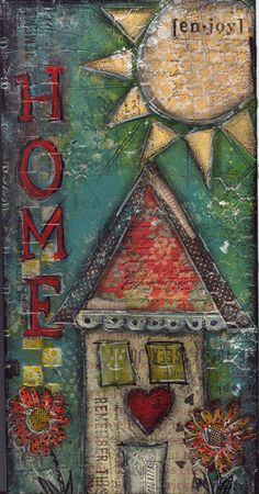 mixed media!  Love this @Melissa Squires Squires Squires Squires Brown Jaycox!