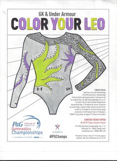 Please vote for this entry in GK & Under Armour Color Your Leo contest!!