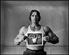 Arnold Schwarzeneger, 1977  © Elliot Erwitt