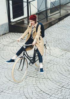 pose street modelo