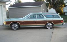 Last of the Breed: 1977 Ford Country Squire Wagon Chevrolet Trucks, Ford Trucks, 1957 Chevrolet, Chevrolet Impala, Lifted Trucks, Pickup Trucks, Station Wagon Cars, Ford Ltd, Shooting Brake