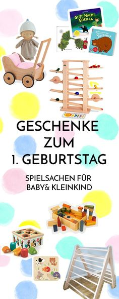 Useful first birthday gifts Baby & toddler toys - Geburtstag 1st Birthday Gifts, Baby First Birthday, Baby Boy Toys, Toddler Toys, Baby Baby, Diy Bebe, Baby Kicking, Diy Gifts For Friends, Meaningful Gifts