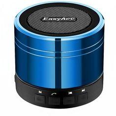 EasyAcc MC-3W - Altavoz portátil con radio FM (Bluetooth, 3 W) color azul - http://complementoideal.com/producto/tienda-socios/easyacc-mc-3w-altavoz-porttil-con-radio-fm-bluetooth-3-w-color-azul/
