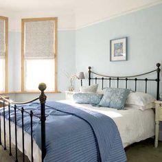 Pale Blue And Cream Bedroom Design Es Pinterest Bedrooms Bedroomaster