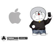 Dora+Steve Jobs