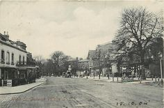 High Street, Dulwich village, London 1904
