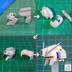: : GBWC ZETA C1 : : HEAD SHRINK! Here's the segments and pieces I used to fit…
