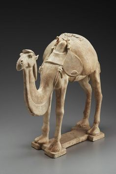 Camel with musical instrument-pipa, Chinese, Sui dynasty, early 7th century A.D.