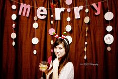 I want to have a photo area at our party. This is a cute backdrop.